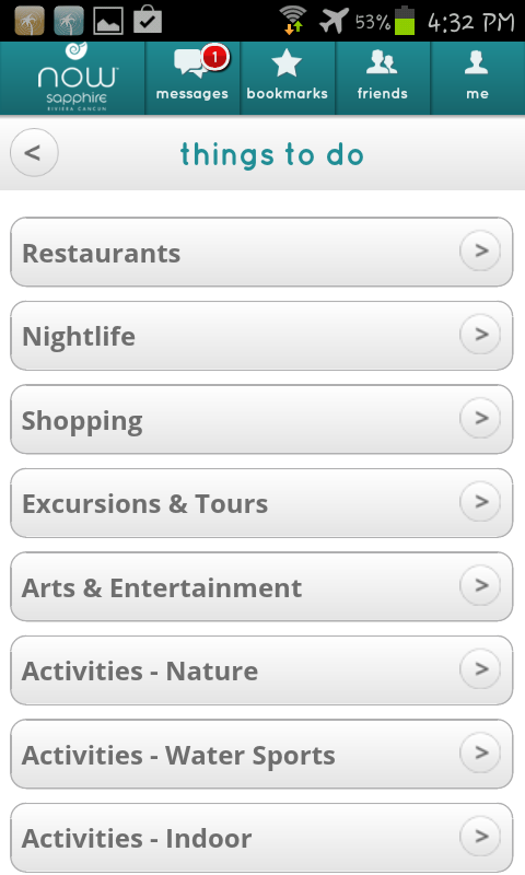 Now Resorts and Spas- screenshot