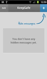 Hide SMS - private text vault - screenshot thumbnail