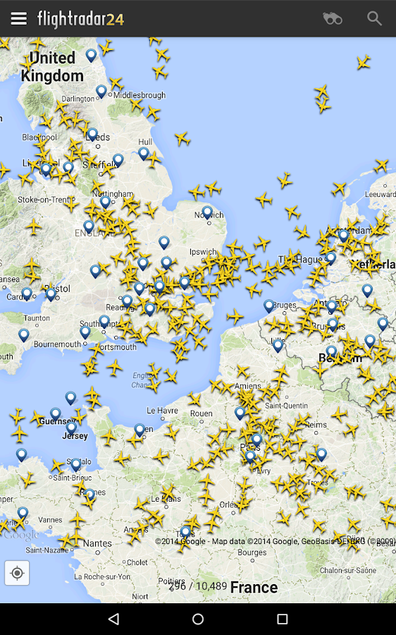 Flightradar24 Free - screenshot