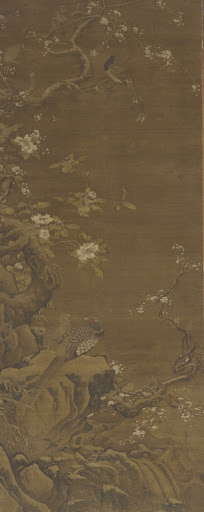 Pheasants and Snow-covered Plum Blossoms