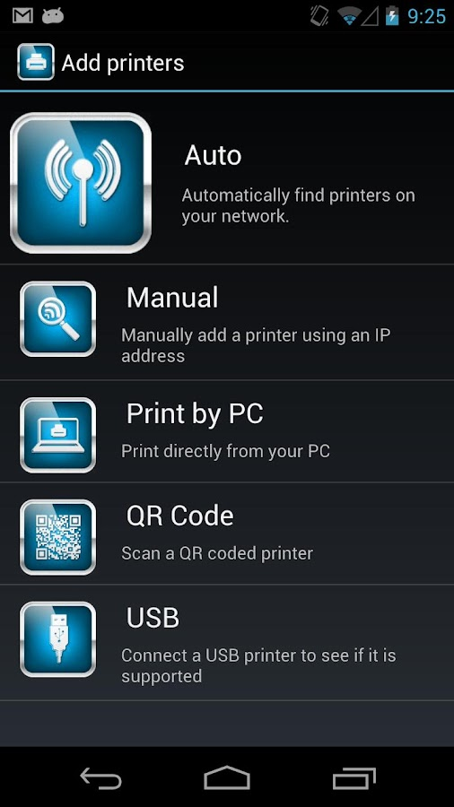 ThinkFree Mobile Print - screenshot