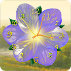 Flower Clock Live Wallpaper icon