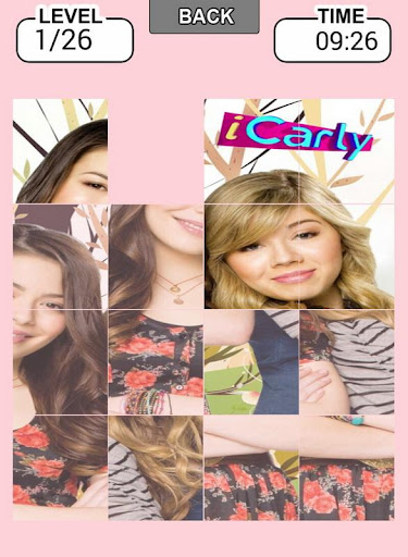iCarly Puzzle Slide