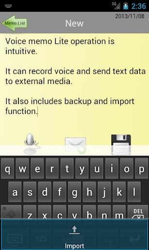 【免費生產應用App】Voice memo Lite-APP點子