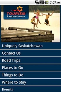 Tourism Saskatchewan- screenshot thumbnail