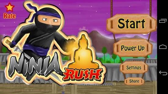 Rogue Ninja Rush