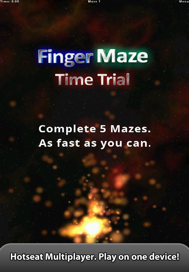 Finger Maze - screenshot