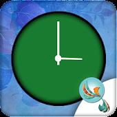 Cyan Clock Free Widget