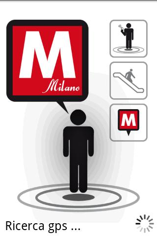 Milan Metro Augmented Reality - screenshot