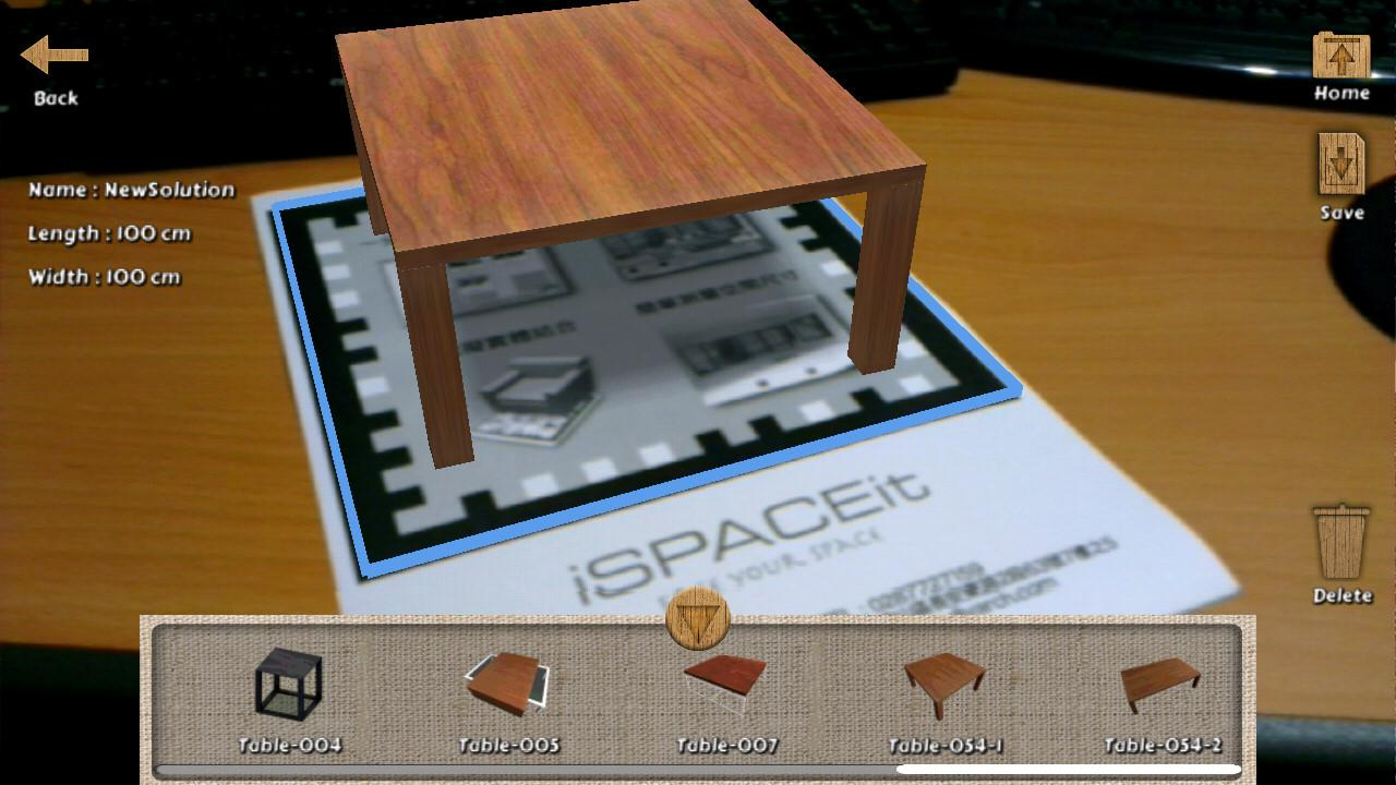 iSpaceit HD- screenshot