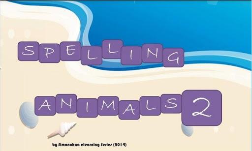 Spelling: Animals 2