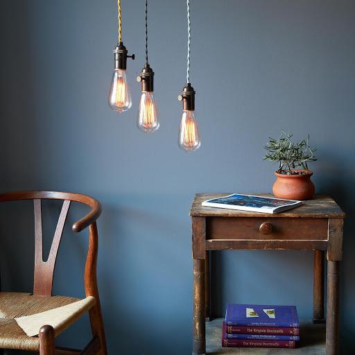 Pendant Lamp with Edison Bulb