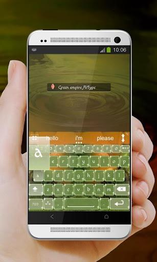 無料个人化Appのグリーン帝国Gurīn teikoku AiType|HotApp4Game