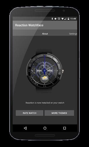 Reactive Watchface for Wear