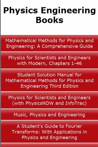 Physics Engineering Books