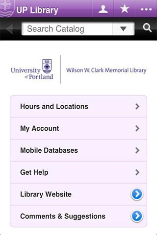 UP Library - screenshot