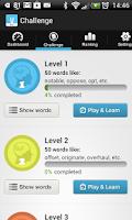 Screenshot of IELTS Exam Vocabulary Free