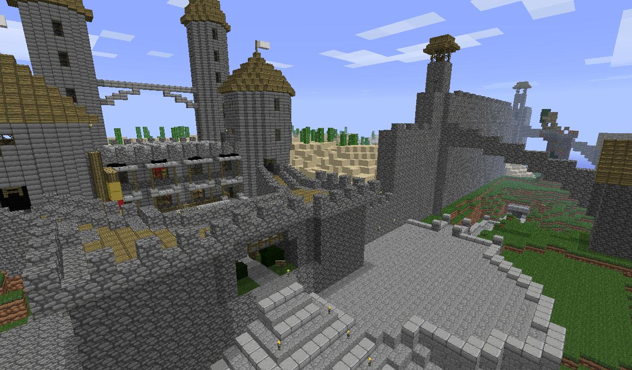 скачать карту с мех домом на minecraft 1.9 #3