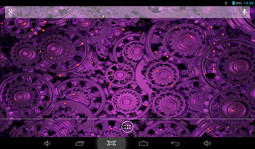 Golden Gears 2 Live Wallpaper app for Android screenshot