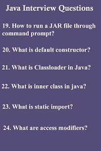 Free 45 Java Interview Questions APK