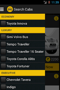 GetBookCab -Book Taxi In India- screenshot thumbnail