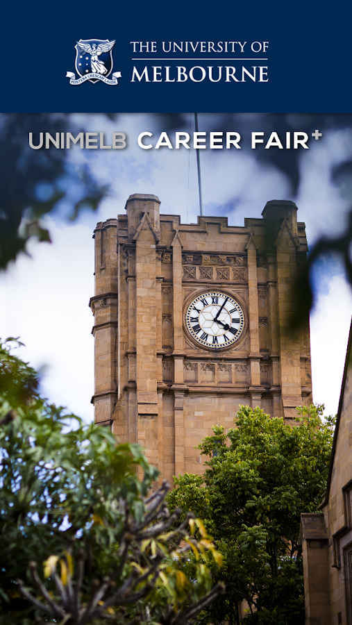 UniMelb Career Fair Plus- screenshot