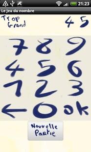 The number's game- screenshot thumbnail