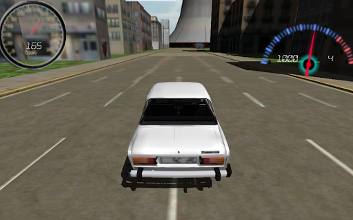 【免費賽車遊戲App】Lada Racing Simulator 2106-APP點子