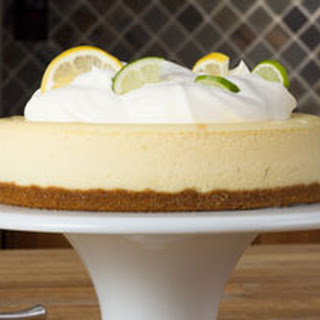 Lemon-Lime Cheesecake.
