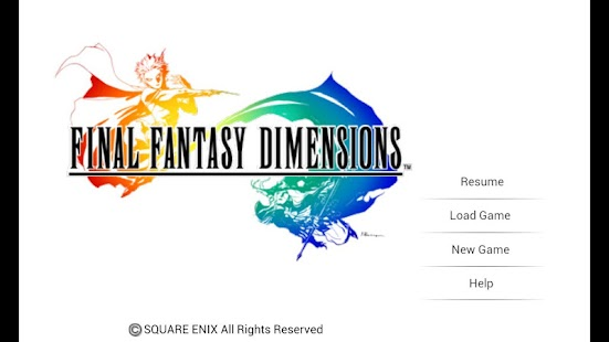 FINAL FANTASY DIMENSIONS Screenshot 1