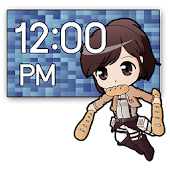 Chibi Attack Titan Clock (2x4)