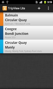 TripView Sydney Lite - screenshot thumbnail