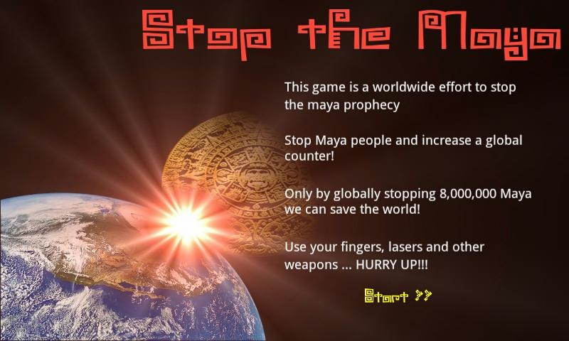 Stop the Maya - screenshot