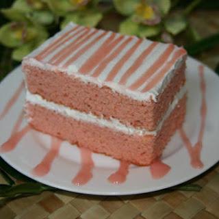 Guava Chiffon Cake.