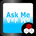 Durch Fragen lernen mit Ask Me icon