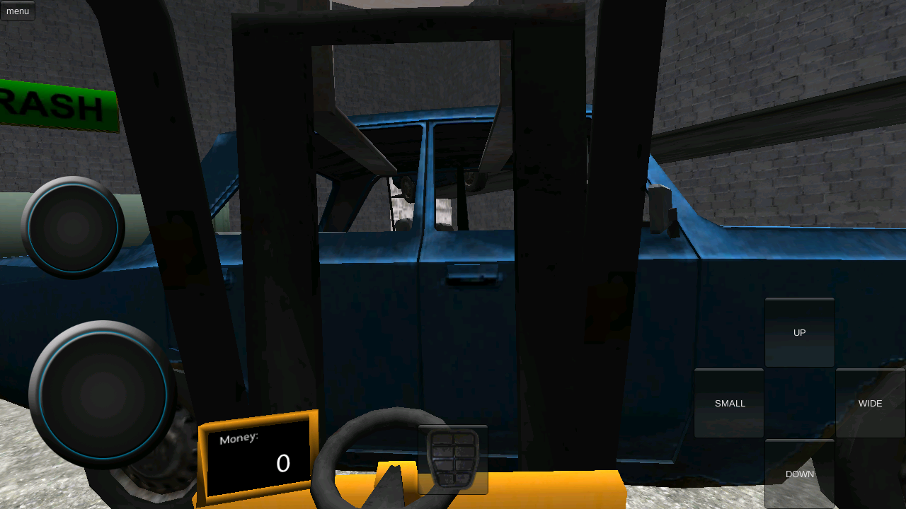 VR Forklift Simulator Demo- screenshot