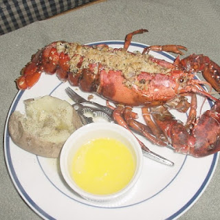 Baked Stuffed Lobster.