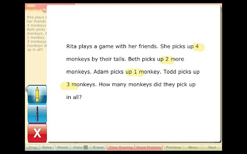 Math Word Problems Grade 1 - Android Apps on Google Play