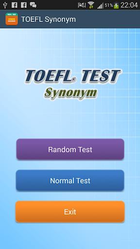 Learn TOEFL Synonym FREE