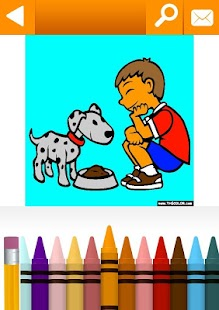 Animals Coloring Pages Free by TheColor.com- screenshot thumbnail