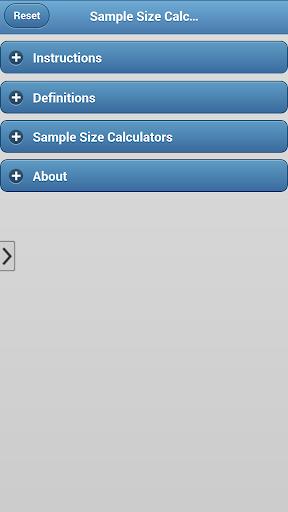 Sample Size Calculators