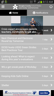 Douglas County School District- screenshot thumbnail