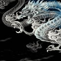 White Dragon Live Wallpaper icon