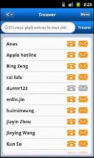 LeeAB carnets d'adresses - screenshot thumbnail