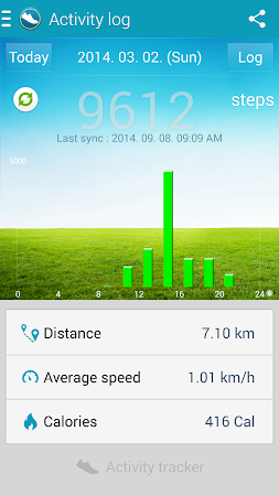 Samsung Activity Tracker 1.41 screenshot 113318