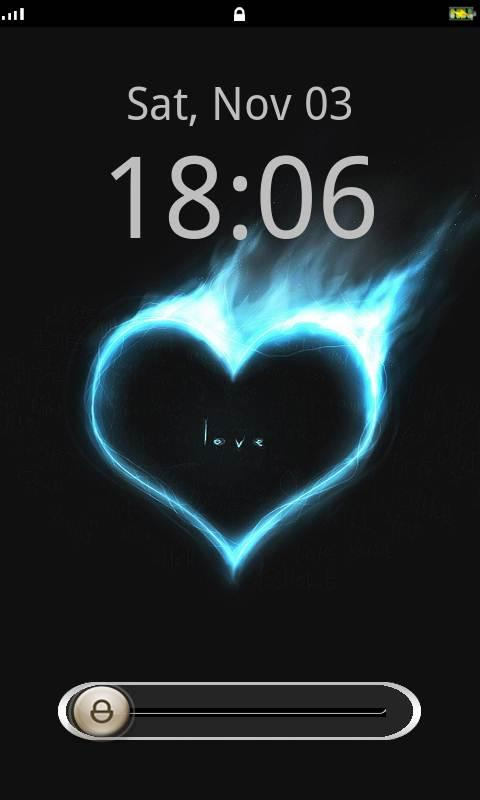 Love Lock Screen Theme- screenshot