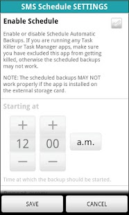 SMS BACKUP n2manager - screenshot thumbnail
