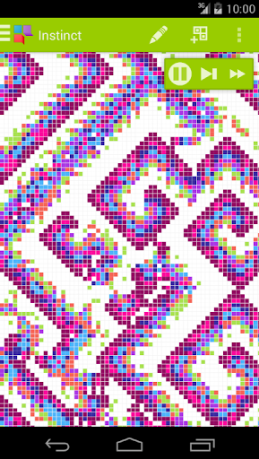Instinct - Cellular automata