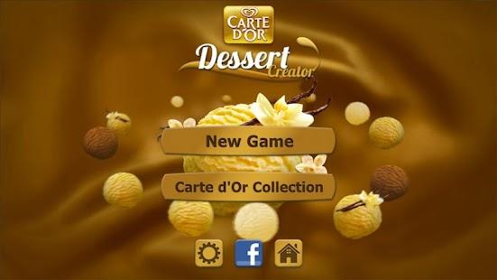 Carte d'Or Dessert Creator - screenshot thumbnail