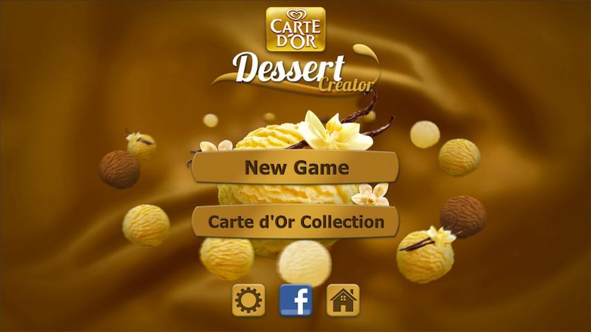 Carte d'Or Dessert Creator - screenshot